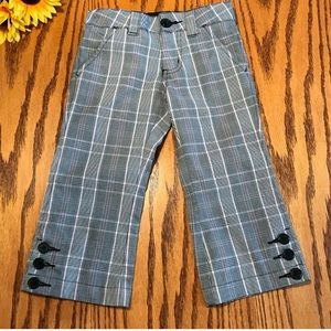 Girls plaid Capri pants  by Cherokee size 4